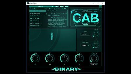 Binary IR CAB