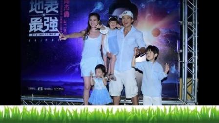 刘耕宏5口亲子装有爱,小泡芙和妹妹长的好像,网友:心疼妹妹!