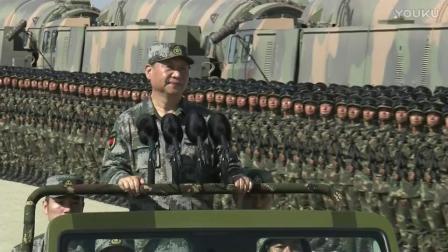 庆祝中国人民解放军建军90周年朱日和沙场大阅兵(2017.7.30)_高清