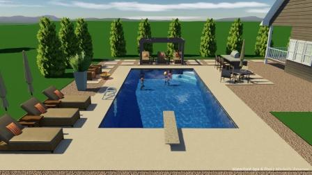 游泳池设计理念解析,游泳池设计装饰,游泳池装修设计方案,丘比龙婴幼儿泳池设备公司
