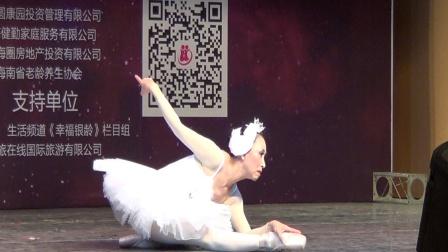 芭蕾舞《天鹅之死》陈琦.玉海摄