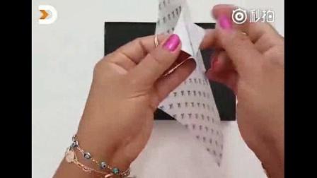 290、厚纸板珠宝首饰盒手工制作方法