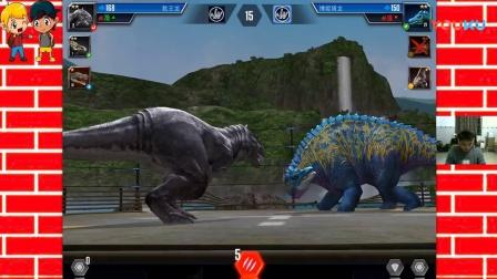侏罗纪世界第041期:巨齿鲨大战达克龙 侏罗纪世界公园_超清