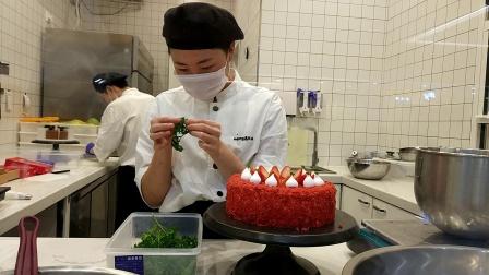 生日蛋糕裱花视频教学