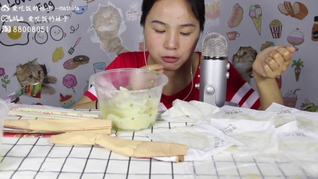1,爱吃饭的妹子 泡芙+馄饨+铁板麻糍+铁板煎包+灌汤小笼包+旺旺雪饼 中国吃播~说话原速 吃饭4倍速
