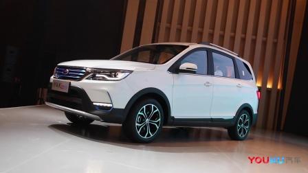 3排7座设计 开瑞K60 EV补贴后10.63万元起售
