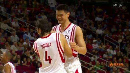 振奋人心,NBA球衣退役第一个中国人的名字,姚明深情凝望!