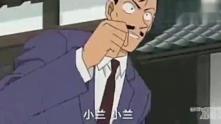 名侦探柯南: 柯南被电击, 小兰美女挺身而出, 英勇救夫!