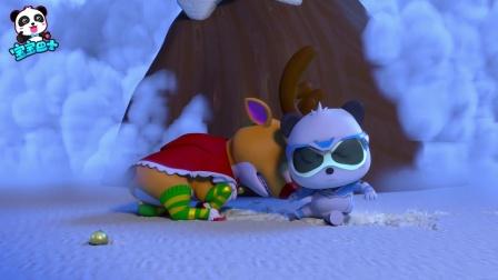 《宝宝巴士奇妙救援队》09 救助驯鹿鲁道夫,圣诞节快乐