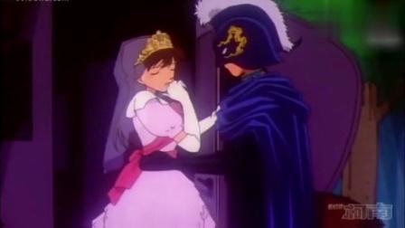 名侦探柯南: 新一化身黑衣骑士拥抱小兰, 一旁的小五郎都疯了!