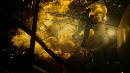 《救火英雄》浓烟来袭火炉即将爆炸,任达华舍命救人却被困