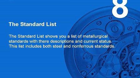 KEY to METALS(金属指南) 教程8:查询各国金属材料标准名称