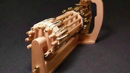 自制橡皮筋机木仓 RotaryMek-12X