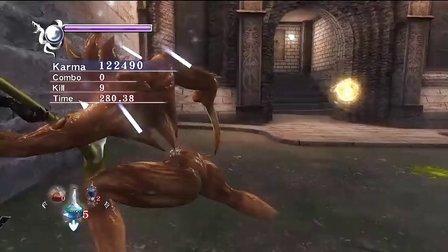 PS3忍龙∑【HARD难度】流程第5章第6章视频