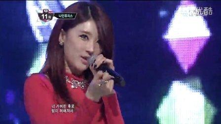 130214<Dolls>NineMuses Mnet M! Countdown.现场版