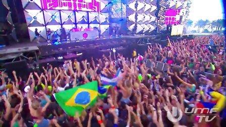 【大森】世界著名DJ Nicky Romero 2013UMF音乐节完整全场!