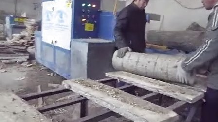 Logs and lumber in the sawmill saw multi-chip video processing3