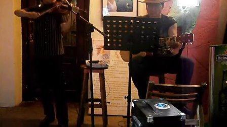 莫斯科郊外的夜晚 二重奏 小提琴 张扬 吉他 TONY CHENG