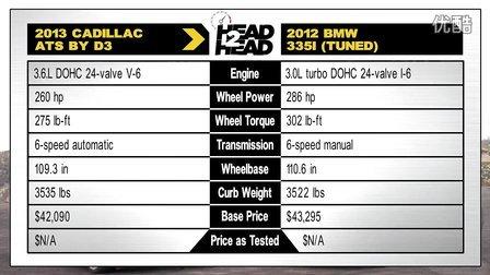 轻改BMW 335i vs 轻改凯迪拉克ATS 3.6