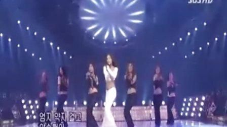 韩国美女低胸热舞