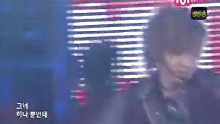 051208 Twins.Mnet M!Countdown.紫红.缺源范海solo