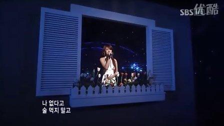李孝利-唠叨(很震撼很感动的舞台)