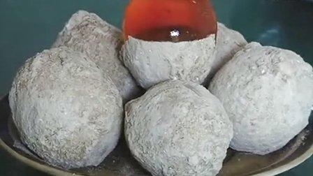 包泥松花蛋的做法 土鸡蛋变蛋的制作方法 农村创业致富项目