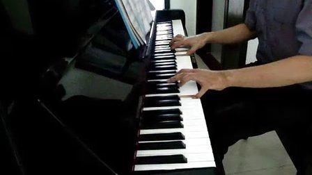 铁血丹心 翁美玲版《射雕英雄传》主题曲 黑白81钢琴版