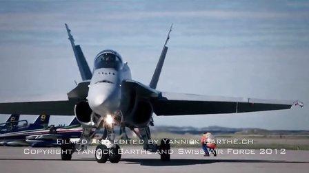 Bodo 2012 Clip Swiss F A-18 Hornet Deasy Solo Display, Norw