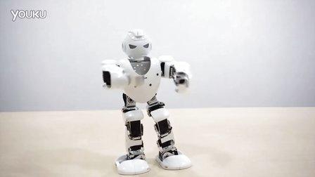 人形机器人表演
