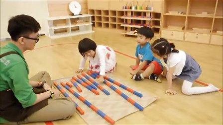 花园宝宝国际精品早教:蒙台梭利课程─数理潜能开发(42-72个月)