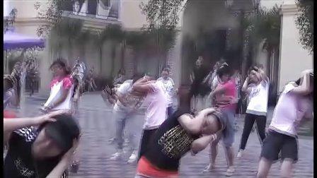热舞登场为中国江河去毒,快闪活动冲击吉尼斯纪录