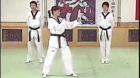 【侯韧杰  TKD  教学篇】之十级段冠军技术