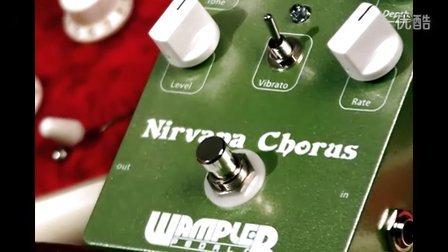 Wampler Nirvana Chorus Guitar Pedal
