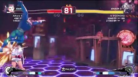 AiharaSin(Sakura)VS Poongko(Seth)SSF4AE2012 1224