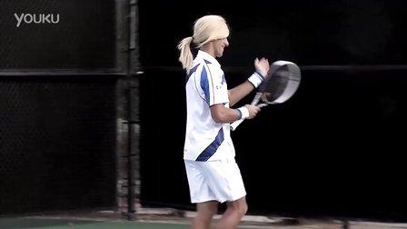 Novak Djokovic imitates Maria Sharapova - Part 2
