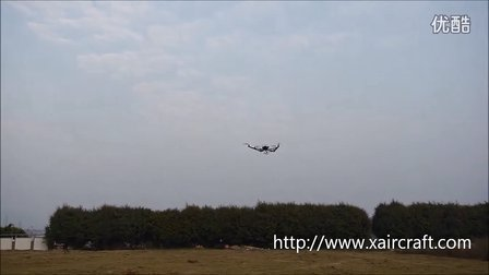 XAircraft 大机架测试-2(FC121-P与AHRS-P)