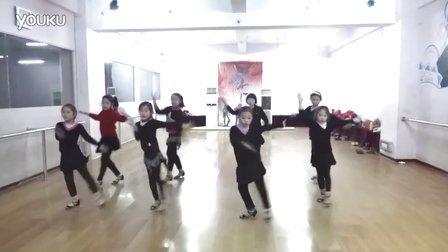 杨娅姣课堂少儿拉丁舞恰恰单人组合2