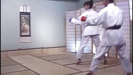 Elisa Au-kumite for black belts