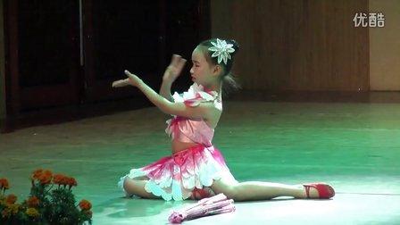 少儿小组古典舞蹈《雨中花》——麻城市融辉艺术培训中心