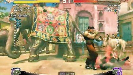 ssf4ae emelv(Guy) vs kalleEeEEEe(Evil Ryu)