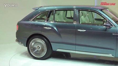 宾利EXP 9 F Concept 2012日内瓦车展亮相