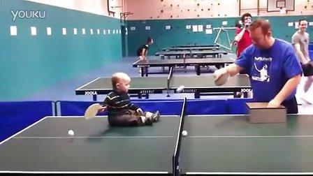 【优酷搞笑】乒乓球技超一流的小北鼻