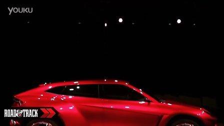 国外媒体拍摄的高清兰博基尼全球首发SUV概念车Urus