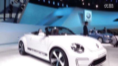 2012车展大众汽车电动版甲壳虫 - E-bugster亚洲首发