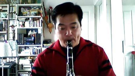 黑管演奏单簧管波尔卡 蓝藻演奏