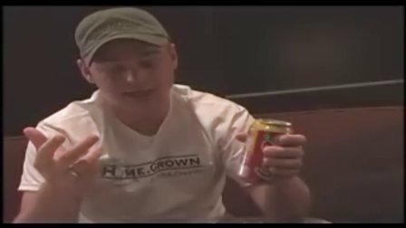 迪龙魔术Criss Angel——签名硬币入可乐罐教学(无密码)