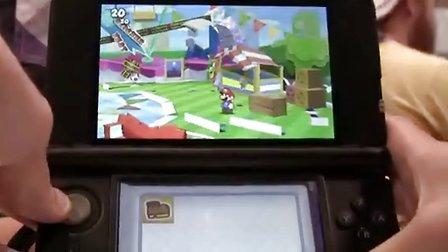 30分钟3ds纸片马里奥原声实际游戏视频
