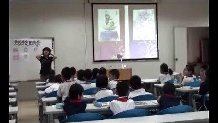 美术二年级下册第二单元点线色你我他岭南版--第2课时-利生小学王琴-《美丽多变的线条》教学录像