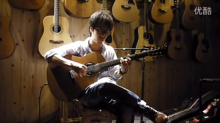 指弹吉他演奏家 GIN 原创曲《亚特兰蒂斯》 长沙沁音原声现场